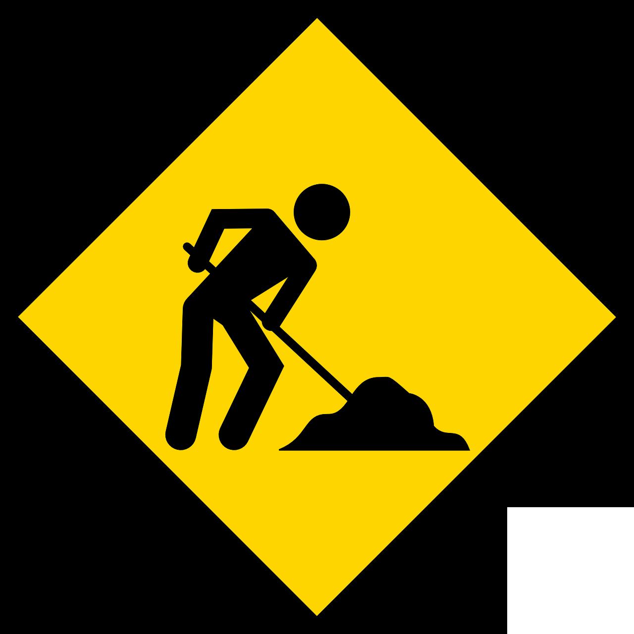Icon Bauarbeiten